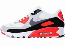 NIKE AIR MAX 90 ULTRA ESSENTIAL White-Grey-Infrared OG Color running sneakers