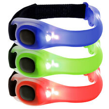 Safety LED Light Waterproof Armband Reflective Cycling Running Walking Outdoor