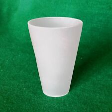 Replacement Conical Frosted Glass Lampshades for Ikea Tattby lighting (cone)