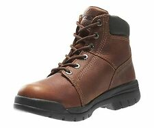 "Mens Wolverine Marquette 6"" Soft Toe Leathr Safety Work Boots Size 8.5-13 W04735"