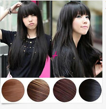 Women Lady Full Long Straight Wigs Cosplay Party Costume Hair Wig Stylish+Cap