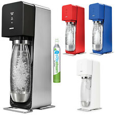Soda Stream Source Metal Home Soft Fizzy Bubble Drink Maker Sodastream