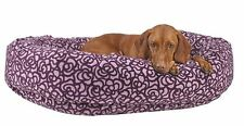 BOWSERS Eurovelvet Donut Dog Bed * 5 COLORS * Soft Pet Puppy Nesting Cuddle