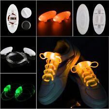 Cool LED Light Up Shoelaces Waterproof Shoestring-3 Modes (On,Strobe & Flashing)