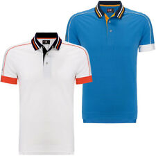 45% OFF RRP Callaway Golf Mens X Range Piped Slim Fit Opti-Stretch Polo Shirt
