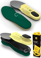 SPENCO POLYSORB HEAVY DUTY Work Boots Shoes Insoles Orthotic Arch Supports NEW