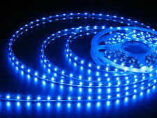 LED Flexible Strip Light 5M 300 SMD 3528 Waterproof Lamp DC 12V Blue Lot