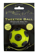 TWEETER BALL by Hyper Pet - IT WHISTLES AS IF FLIES THROUGH THE AIR! dog fetch