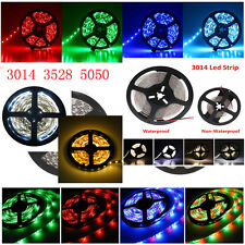 Home garden 3014 3528 5050 5M 300LED 60LED/M SMD LED Flexible Strip Xmas Light