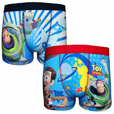 Disney Toy Story Woody Buzz Lightyear Official Gift 2 Pack Boys Boxer Shorts