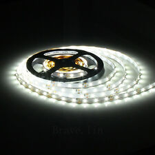 LED Flexible Strip Light 5M 300 SMD 3528 Waterproof Lamp DC 12V White Lot