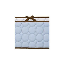 Bacati Quilted Circles Bumper
