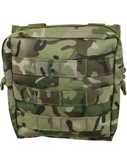 BTP/MTP Compatible Camouflage MOLLE Medium Zipped Army Utility Webbing Pouch RAF
