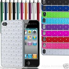 Chrome Design Luxury Bling Diamond Case Cover Skin For New iPhone 4, 4G, 4S - UK