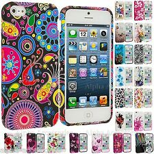 TPU Design Gel Soft Rubber Skin Flower Case Cover For Various Mobile Cell Phone