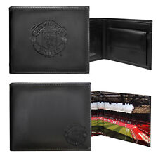 Manchester United FC Official Football Gift Embossed Crest Wallet