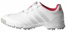 Adidas Womens Response BOA Golf Shoes F33310 White/Silver/Raspberry Ladies New