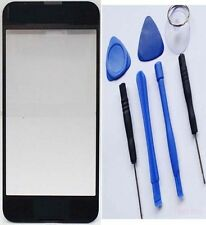 Replacement Black White Front Lens Screen Glass Cover iPhone 4S 5 4G 5S fi