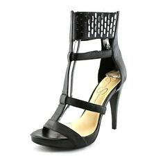 Jessica Simpson Celsus   Open Toe Leather  Platform Heel NWOB