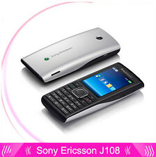 Sony Ericsson J108 J108i(Unlocked)Cell Phone Mp3 Mp4 Music 3G Phones 2MP Camera