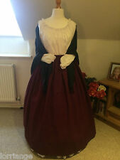 VICTORIAN/ CIVIL WAR/THEATRE BUDGET SKIRT&SHAWL SIZES 10-26 ANY COLOUR COMBO