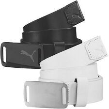 51% OFF RRP Puma Golf Mens Sport Lux Fitted Golf Belt 908294 Leather Strap