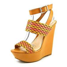 Jessica Simpson Eila 2   Open Toe Synthetic  Platform Heel NWOB