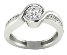 Solitaire Engagement Ring Band I1/G Round Brilliant Cut 1.10Ct Diamond 14Kt Gold