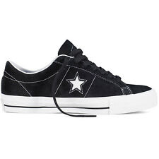 Converse One Star Black White Suede Skateboarding Shoes