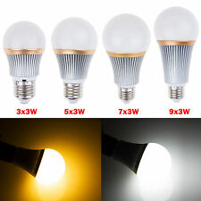 9W 15W 21W 27W E27 Led Globe light lamp Bright Dimmable Energy Saving Ball Bulb