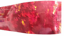 Holographic Spearfishing Skin for Speargun - Protective, Easy Fit - Red Waves