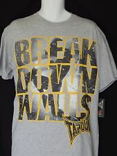 Tapout Break Down Walls Tee Shirt Mens Size Large MMA UFC Fight Gym Training New
