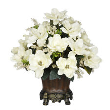 House of Silk Flowers Inc. Artificial Cream Magnolia with Astilbe