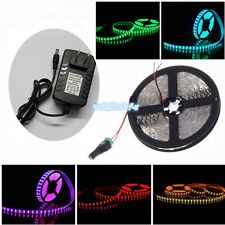 5M 300 LED 3528 SMD 12V Strip Light  Flexible Ribbon Tape Waterproof Warm White