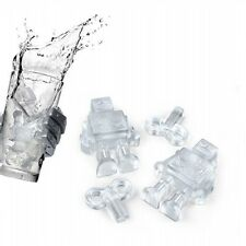 Ice Coud Robot Ice Tray Ice Cubes DIY Mould Pudding Jelly Mold Silicone Bar Part