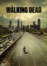 The Walking Dead Glossy Poster Print Borderless Stunning Vibrant A1 A2 A3 A4