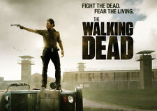 The Walking Dead Glossy Poster Print Borderless Stunning Vibrant A2 A3 A4