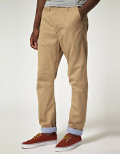 Beige Gio Goi Drum Carrot Fit Chinos   (G15)