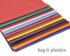 """100 SHEETS OF COLOURED TISSUE PAPER 20"""" x 30"""" / 500mm x 750mm / 50cm x 75cm"""