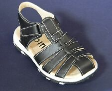 New Toddler Youth Kids Boys Black Sandals Fisherman Summer Casual Closed Toe
