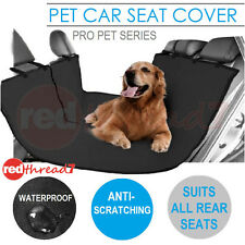 Car Pet Dog Back Seat Cover Cat Hammock Protector Mat Rear Waterproof Black Pets