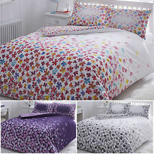 Pieridae Duvet Cover Bed Set and Pillowcase Scattered Floral King Double Single