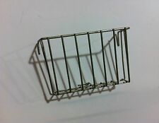 METAL SALAD/VEGETABLE RACK FOR CAGE FRONTS AND NESTING MATERIAL HOLDER