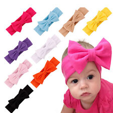 Newborn Baby Girl Headband Infant Toddler Bow Pearl Hair Band Girls Accessories
