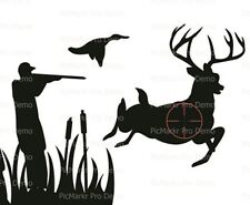Hunter Hunting  Birthday  ~ Frosting Cake Topper ~ Edible Image ~ D20629