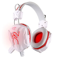 USB 3.5mm Wired Stereo Gaming Micphone Headphone Mic Headset for PS3 Computer