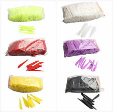 "100 pk 3"" Plastic Vanes Archery Hunting Arrows Fletching Mixed Color"