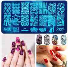 New 3D Nail Art Printing Plate Image Stamping Steel Plates DIY Manicure Template
