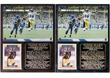Hines Ward #86 Pittsburgh Steelers Super Bowl Champion Photo Card Plaque