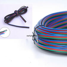 4 Pin Extension Cable Connector Wire Cord for 5050 3528 LED RGB Strip Light